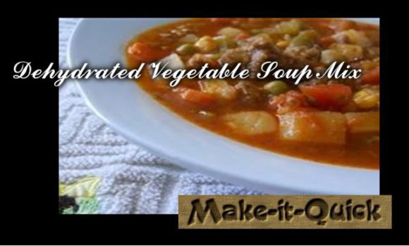 Dehydrated Vegetable Soup Mix Header 21st Century Simple